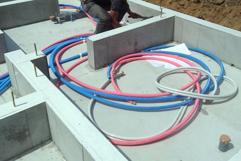 戸建て上下水道配管工事